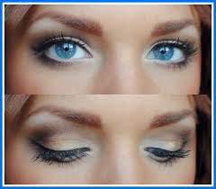natural eye makeup for blue eyes