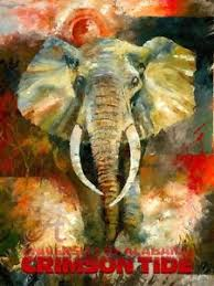 image is loading alabama crimson tide prints elephant art painting print  on alabama elephant wall art with alabama crimson tide prints elephant art painting print drawing
