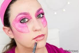 pin jem halloween makeup tutorial step 11