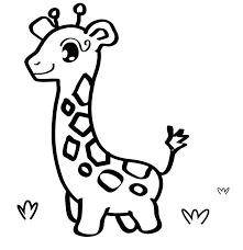 Cute Animal Coloring Pages Justgetlinkinfo