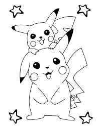 55 Tranh tô màu Pikachu ideas in 2021   pokemon coloring, pokemon coloring  pages, pikachu coloring page