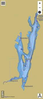 Neponset Reservoir Depth Chart Pascoag Reservoir Fishing Map