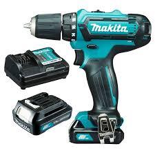 makita drill set 12v. makita 12v mobile 10mm driver drill 1.5ah set df331dwye 12v