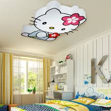 kids room ceiling lighting. aliexpresscom buy modern led hello kitty cat ceiling lights fixture children kids bed room living lamps home indoor lighting from reliable