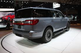 2018 lincoln small suv. contemporary small 2018 lincoln navigator exterior rear quarter view 02 ttn nyias with lincoln small suv
