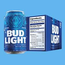 Bud Light Vs Miller Lite Ingredients Bud Lights New Nutrition Labels Mark A New Era For Beer