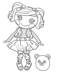 Small Picture Lalaloopsy Coloring Pages Free Printables Lalaloopsy