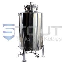 4 BBL Brite Tank with <b>Cooling Coil</b> (Non-Jacketed) | Stout Tanks ...