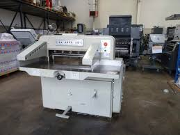 guillotines used finishing machines used polar 72 paper cutter polar cutting machine