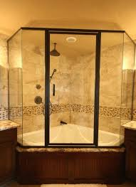 replace garden tub with shower large size of white porcelain combo corner garden tubs clear glass