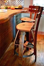 marvelous design ideas wine barrel bar stools how to make a stool furniture walla peaceful modern wine barrel