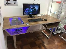 my pc desk i built