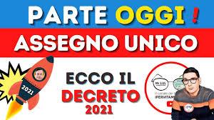 🔴ULTIM'ORA Assegno Unico 2021 OGGI ➡1000€ EXTRA a famiglia 167€ a figlio  anche con RDC! ECCO COME! - YouTube
