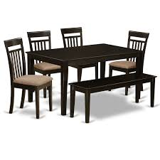 Amazoncom Cap6s Cap C 6 Pc Dining Room Set Top Kitchen Table And 4