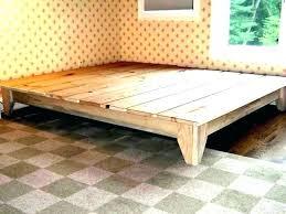 Cal King Platform Bed Frames King Platform Bed Frame King Platform ...