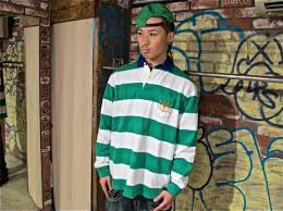 dicey the kid polo green shirt rugby