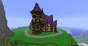 Cool Minecraft Roof Designs Big Fan Of The Purple Elven Roof Design Cool Minecraft