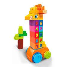 """<b>Mega</b> Bloks® <b>Конструктор</b> """"Жираф 123"""""""