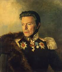 david bowie celebrities painted as 17th century military generals