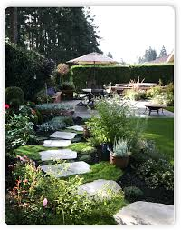 Backyard Landscape Designs Custom Tacoma Landscaping Design Construction And Services Fircrest