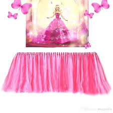 diy tulle table skirt tulle table skirt tutu tableware for wedding decoration baby shower party wedding