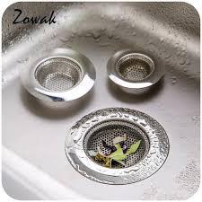 2018 stainless steel bathroom bathtub sink waste stopper kitchen drain strainer catcher hair trap holes shower bathroom plug filter from georgely