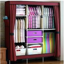 portable clothes rack closet rack portable closet rack triple portable clothes wardrobe closet cabinet garment rack