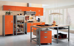 Kitchen Interior Design Furniture Modern Kitchen Orange Modern Kitchen Interior Modern
