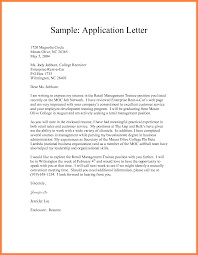 formal application format formal application format sample letter example semi block