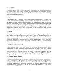 system architecture study global hawk unamanned aerial system uas 3