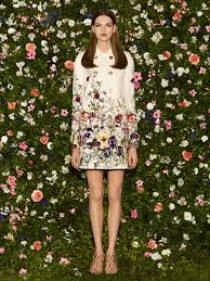 gucci inspired clothing. beautiful floral-inspired dresses from gucci \u2013 resort collection 2013 inspired clothing t