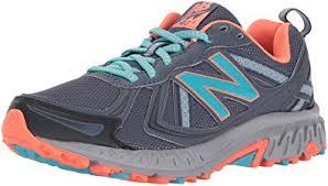 new balance 410 womens. new balance women\u0027s cushioning 410 v5 running shoe trail-runners, thunder/vivid ozone womens