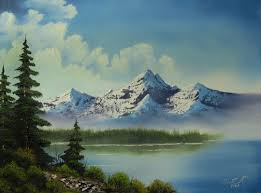 simple landscape paintings of mountains oil painting for beginners no 1 dvd
