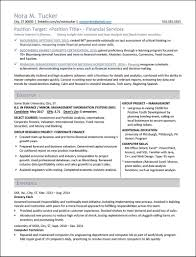 Excel Resume Examples Student Resume Examples Distinctive Documents