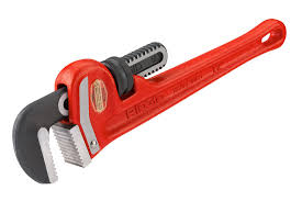 RIDGID Model 12 Heavy Duty Straight Pipe Wrench 12 inch
