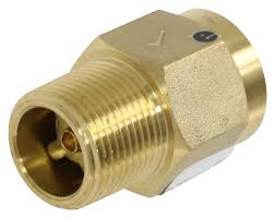 camco rv fresh water system backflow preventer 3 4 diameter mpt x fpt brass camco rv fresh water cam23402