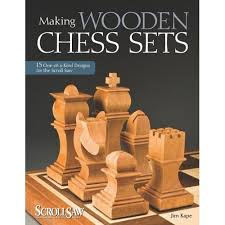 How To Make A Wooden Game Board Making Wooden Chess Sets by Jim Kape Wooden Chess Set Book 42