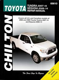 toyota tundra and sequoia chilton repair manual 2007 2014 2008 Toyota Sequoia toyota tundra, sequoia 2007 2014 repair manual (2wd, 4wd)