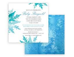 Snowflake Baby Shower Invitations Snowflake Baby Shower Invitation Jillian Designs