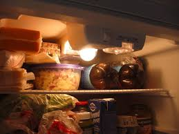 refrigerator light bulb. step 1: replace the incandescent bulb with an led refrigerator light