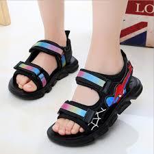 2020 Summer Children Boys Sandals spiderman sneakers Kids ...
