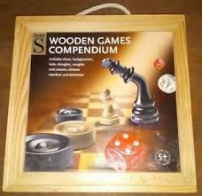 Wooden Games Compendium Wooden Games Compendium Chess Backgammon Draughts Checkers 34
