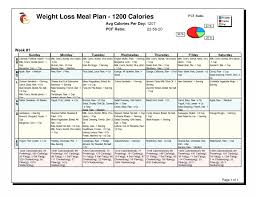 Protein Diet Chart For Weight Loss 008 Free Meal Plan Template For Weight Loss Diet Plans