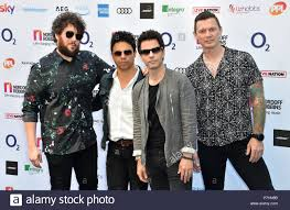 Jamie Morrison, Javier Wyler, Kelly Jones and Richard Jones of  Stereophonics attending the Nordoff Robbins O2 Silver Clef Awards 2018,  held at Grosvenor House Hotel, London Stock Photo - Alamy