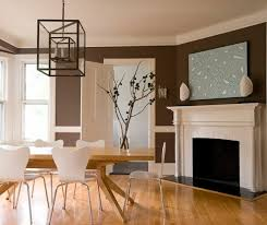 ... Wall color shades of brown - earthy, natural coziness at home