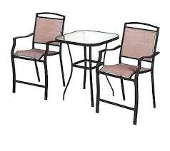 outdoor bistro set bar height high outdoor bistro set garden table bench set new high outdoor