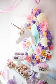 whimsical unicorn themed birthday party via kara s ideas karaspartyideas com whimsicalunicornparty