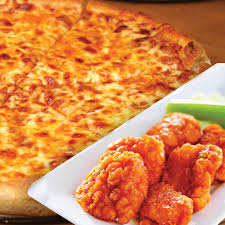 cheese pizza extreme boneless wings