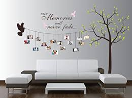 Small Picture Large Photo Tree Wall Decal Customizable Family Tree Decal Wall