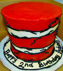 Top Hat Cake Designs Cat In The Hat Cake Design In All Buttercream Design From